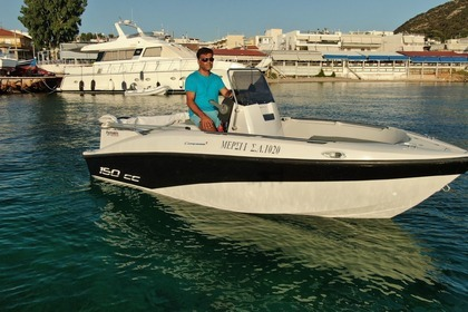 Hire Motorboat Compass 150cc Anavyssos