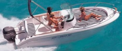Rental Motorboat Sessa Marine Key Largo 20 Preko