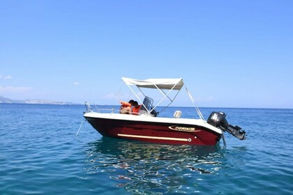 Rental Motorboat POSEIDON Blue Water 480 Zakynthos