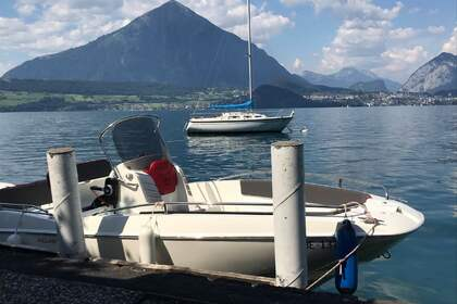 Rental Motorboat Prua Al Vento Jaguar 5.7 SE Interlaken