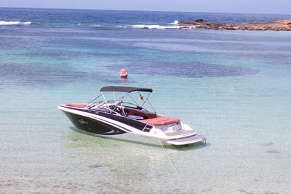 Rental Motorboat Glastron GT245 Ibiza