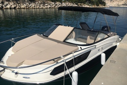 Rental Motorboat Bayliner VR5 Cuddy Marseille