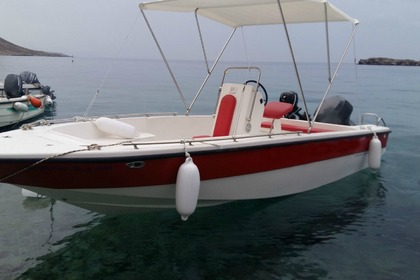 Rental Motorboat Mare 550 Loutro 3 Loutro