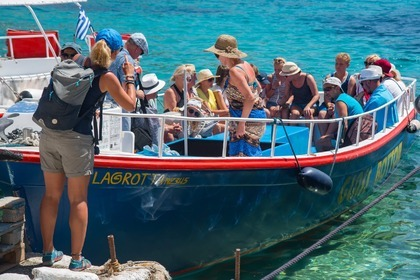 Hire Motorboat Custom Glass Bottom Zakynthos