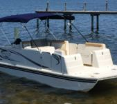 Beachcat 20′ Pontoon Boat in Osprey for rental