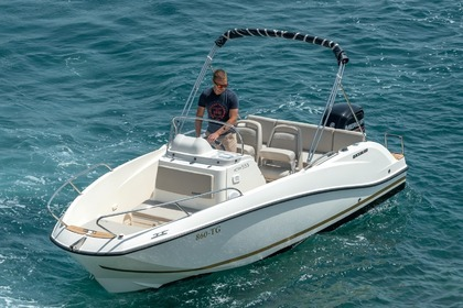 Verhuur Motorboot Quicksilver Activ 555 Open Split