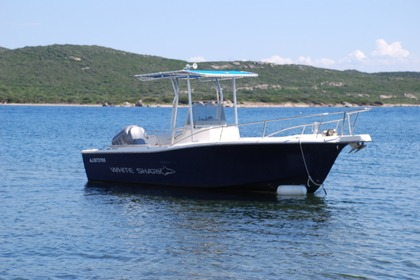 Hire Motorboat WHITE SHARK 225 Pianottoli-Caldarello