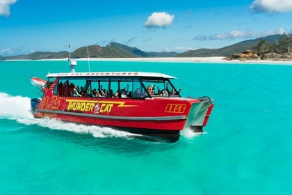 Hire Catamaran Catamaran Custom Made Thunder 39 Airlie Beach