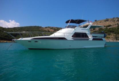 Charter Motorboat Fairline 46 Fly Kukljica
