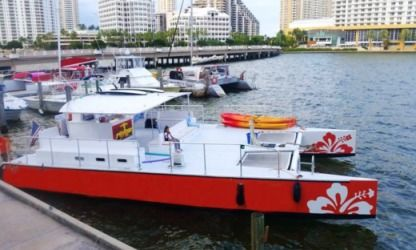 Rental Catamaran Custom 50' Catamaran Palm Beach