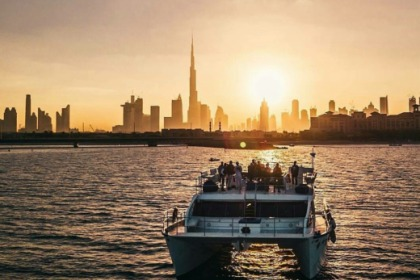 Rental Catamaran Custom Catamaran for Events and Big Groups Dubai