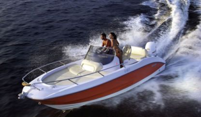 Rental Motorboat Sessa Key Largo 20 Deck Malinska