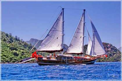 Charter Sailboat Gulet Yorgun 1 Marmaris