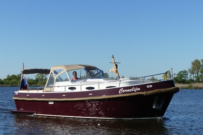 Hire Motorboat Custom Cabin Motorboot Sneek