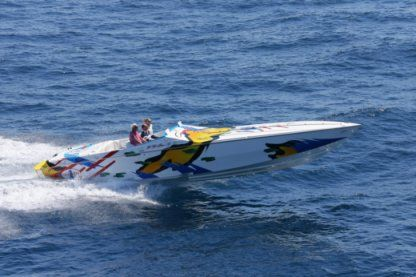 Charter Motorboat Cigarette Racing 38' Top Gun Saint-Tropez