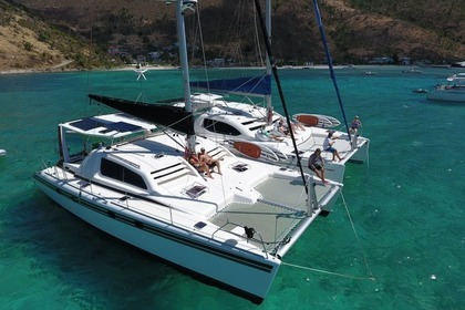 Charter Catamaran Robertson and Caine Leopard 45 Cruz Bay
