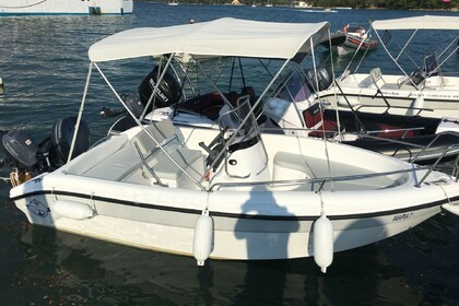 Hire Motorboat POSEIDON Blu Water 480 New Edition Nydri
