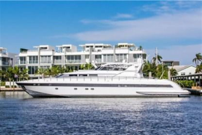 Rental Motorboat Alchemist 100 Miami Beach