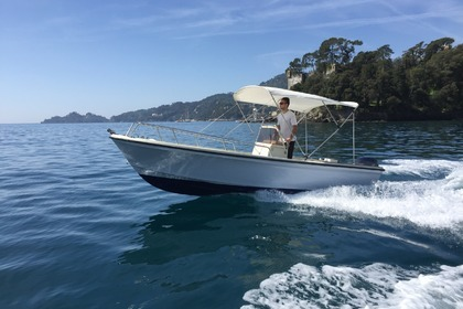 Rental Motorboat Marino 19 Rapallo