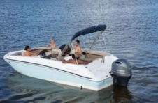 Motorboat Hurricane 21 for rental