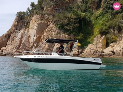 Charter Motorboat Shiren 21 Open - Llafranc Llafranch