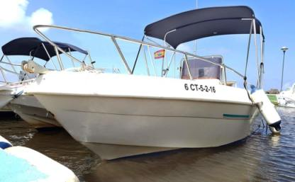 Rental Motorboat Saver Open 500 La Manga