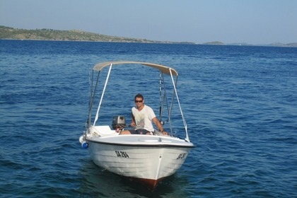 Rental Motorboat Custom Built Traditional Croatian Pasara Zaglav