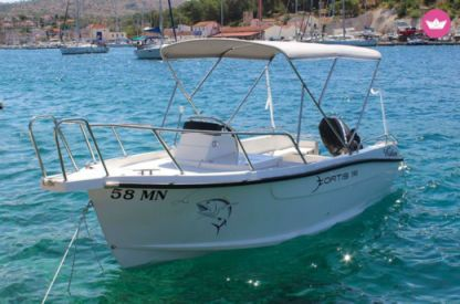 Rental Motorboat Fisher Fortis 590 Milna
