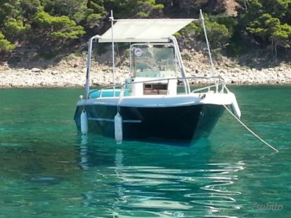 Charter Motorboat Astra 190 Agnone Cilento