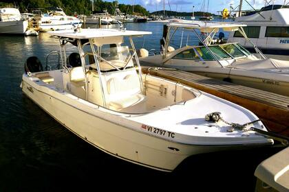 Hire Motorboat Prokat Center Console Charlotte Amalie