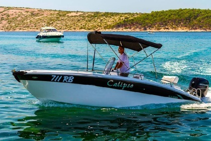 Hire Motorboat Salmer CALIPSO 21 Rab