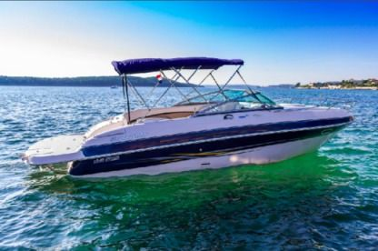 Rental Motorboat Four Winns 750 Rab