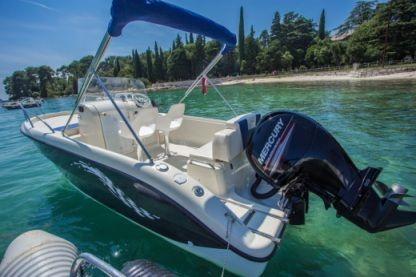 Miete Motorboot Fisher 20 Rovinj
