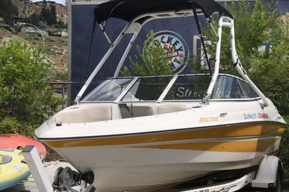 Rental Motorboat Campion Allante S535 Kelowna