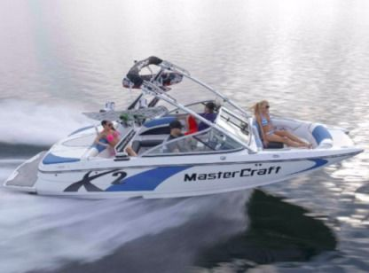 Charter Motorboat Mastercraft X2 South Lake Tahoe