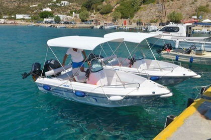 Rental Motorboat Olympic 450 CC Sifnos