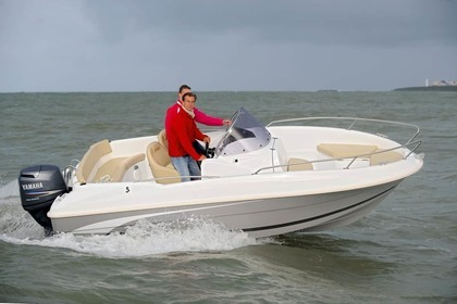 Rental Motorboat Beneteau Flyer 570 open Cabourg