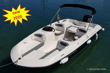 Miete Motorboot BAYLINER Q600 'ATLAS' 2020 (8P) Can Pastilla