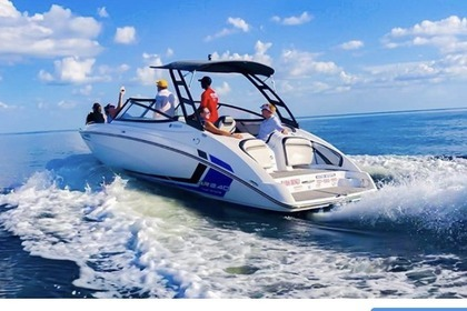 Charter Motorboat Yamaha AR 240 Twin Engine St. Petersburg