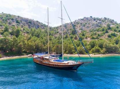 Charter Sailboat Custom Built Exclusive Gulet Marmaris