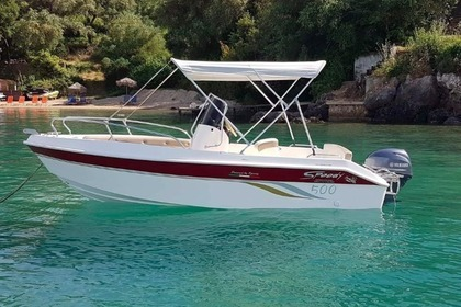Hire Motorboat Speedy 500 Corfu