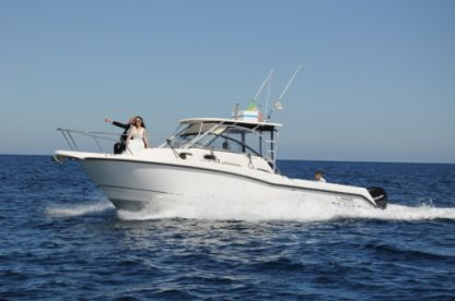 Charter Motorboat Boston Whaler Conquest 305 Marzamemi