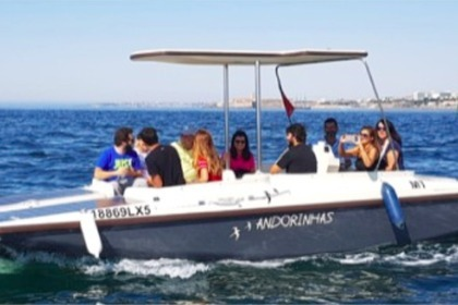Rental Motorboat Solar one Cascais