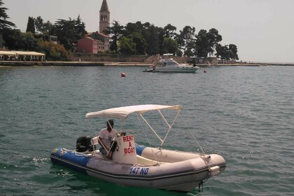 Hire RIB Zodiac Medline 550 Novigrad