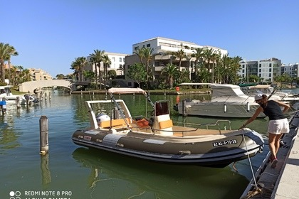 Rental RIB Cobra Hybric 5,80 Sotogrande