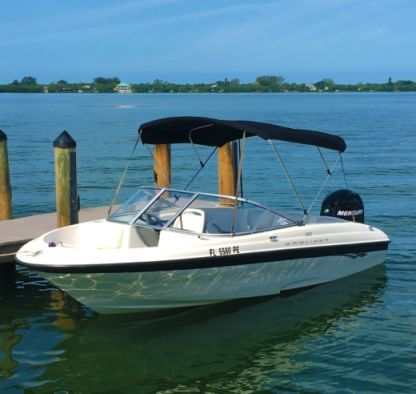 Charter Motorboat Bayliner 180 North Port
