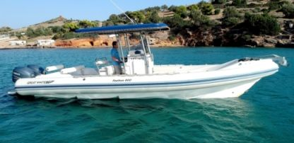 Charter RIB Great White Faethon 31Ft Sounio