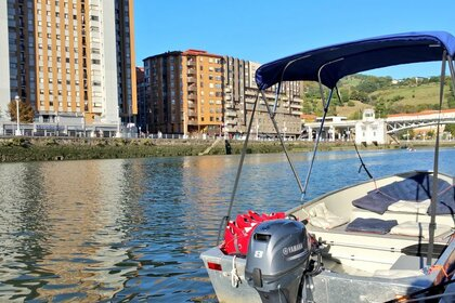 Hire Motorboat Aluminio Cheer 2 Bilbao