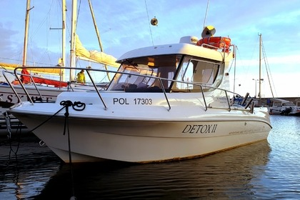 Rental Motorboat Atlantic Adventure 660 Hel