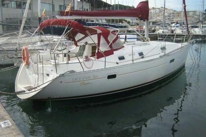 Location Voilier BENETEAU OCEANIS 361 CLIPPER Flamanville